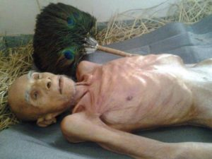 Jain monk in India fasting to death