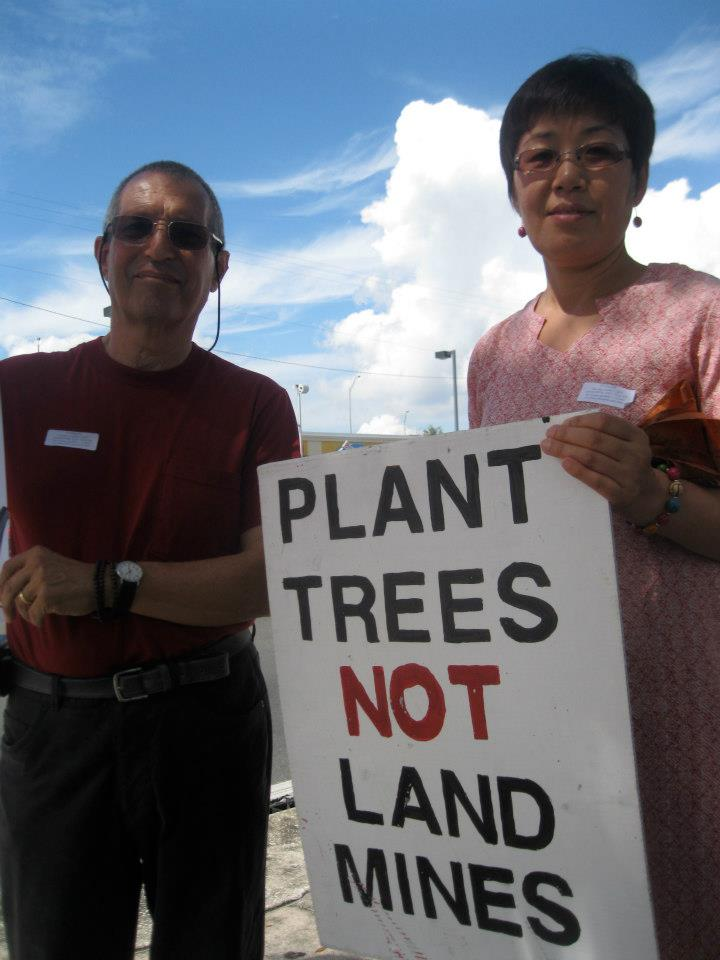 Plant Trees, Not Bombs